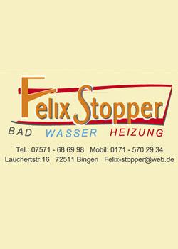Felix Stopper Sanitär- u. Heizungsbau, Installationsgeschäft